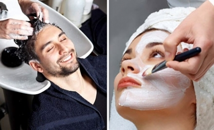 Upscale ultra modern unisex family salon for sale in Hyderabad